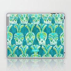TRIBAL PINEAPPLE SKULLS Laptop & iPad Skin
