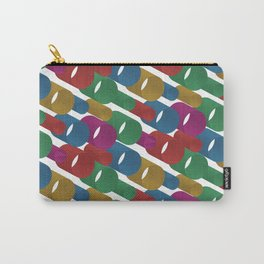 3D X Pipes Carry-All Pouch