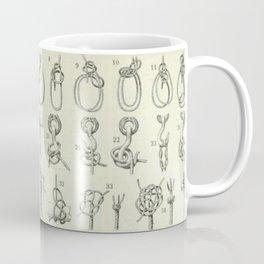 Vintage Knots Chart Coffee Mug