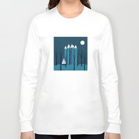 sailing Long Sleeve T-shirts featuring Sailing by Illusorium