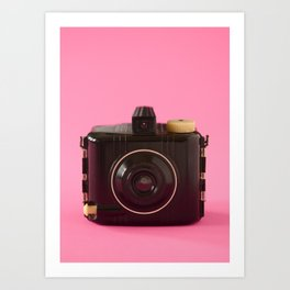 Baby Brownie Special Camera Art Print