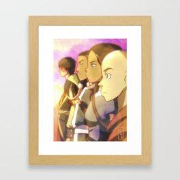 Avatar The Last Airbender Framed Art Print