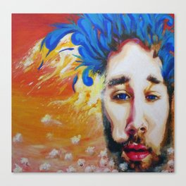 Mike Johnston Heady Convo's with Jimmy EP Album Cover   2012 Canvas Print