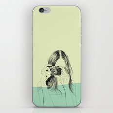 Woman Color 11 iPhone Skin