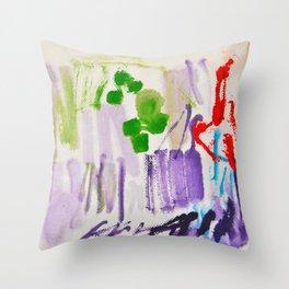Doodles Paper by Elisavet World Throw Pillow