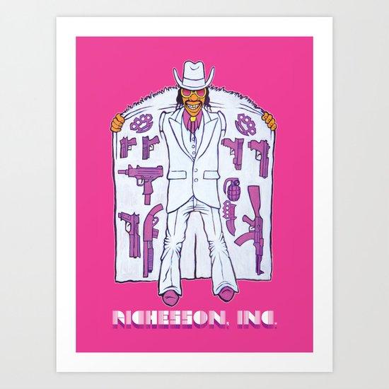 Sales Associate Art Print