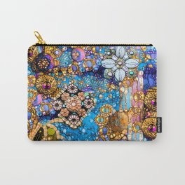Gold, Glitter, Gems and Sparkles Carry-All Pouch