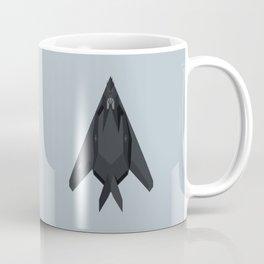 F-117 Nighthawk Stealth Jet Aircraft - Cloud Coffee Mug
