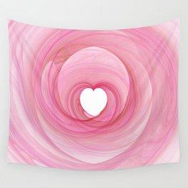 Valentine's Fractal I - Light Wall Tapestry
