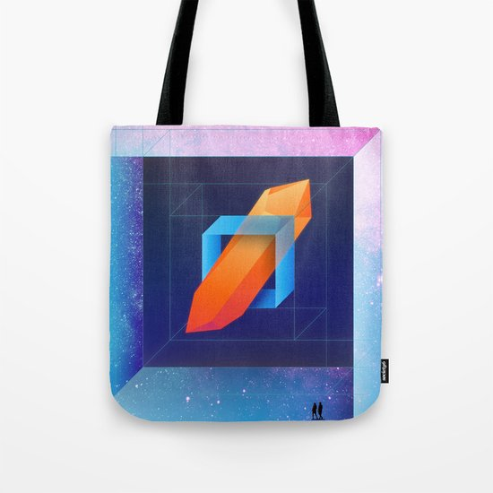 Diamond Dimensions #1 Tote Bag