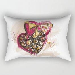 Valentines Day - Chocolate box Rectangular Pillow