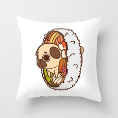 Puglie Pootomaki Throw Pillow