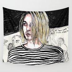 I'm not like them, but i can pretend. -  Kurt c Wall Tapestry