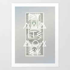 DYNAMITE MONEY Art Print