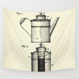 Coffee Percolator-1894 Wall Tapestry