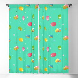 Space Critter Blackout Curtain