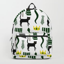 The House of Slytherin Pattern Backpack