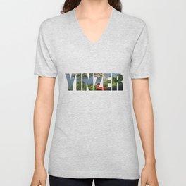 Yinzer Pittsburgh Incline Unisex V-Neck