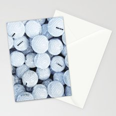 Golf Lovers... practice makes perfect Stationery Cards