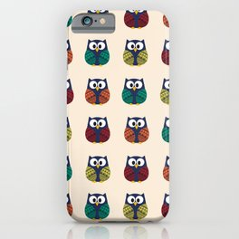 Cute Owls - Hooting and Rooting iPhone Case