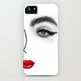 Face no.3 iPhone Case