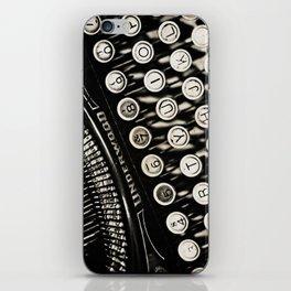 Underwood  typewriter iPhone Skin