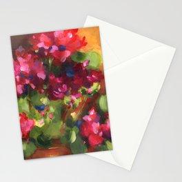 Geranium Reds Stationery Cards