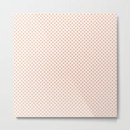 Prairie Sunset Polka Dots Metal Print