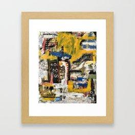 Confuso Framed Art Print