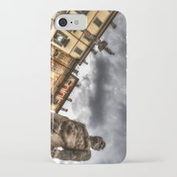 hercules iPhone & iPod Cases featuring Hercules' statue by Roberto Pagani