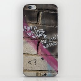 Hare Row - What A Waster iPhone Skin