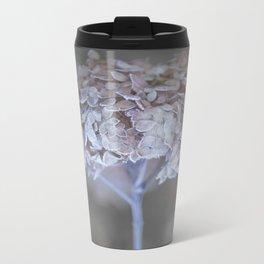 Frost Petals Of Hydrangea #decor buyart #society6 Metal Travel Mug