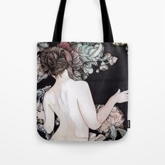Winter Wither Tote Bag
