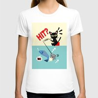 fishing T-shirts featuring Fishing by BATKEI