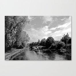 Canals best Canvas Print
