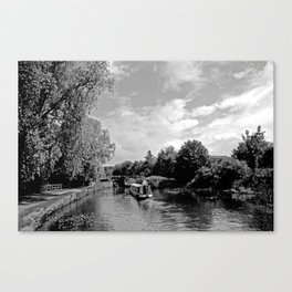 Canals best Canvas Print