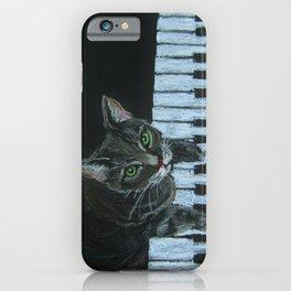 Catgang Meowzart iPhone Case
