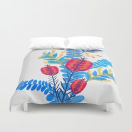 Australian Native Bouquet Duvet Cover