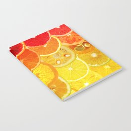 Fruit Madness - Citrus Notebook