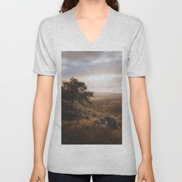 Wester Ross - Landscape and Nature Photography Unisex V-Neck