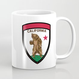 California Bear Badge Coffee Mug