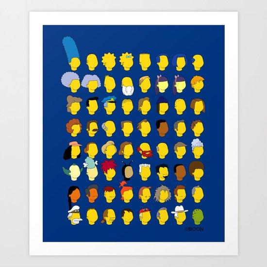 Springfield Follicles Art Print