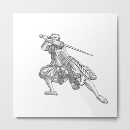 Zornhut Wrath Guard Metal Print