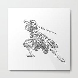 Zornhut Wrath Guard Metal Print