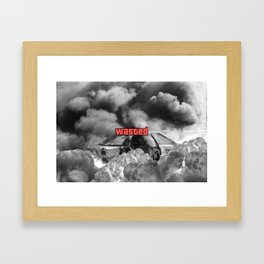 Wasted GTA Framed Art Print