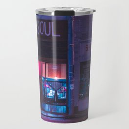 Slice - Memphis Photo Print Travel Mug