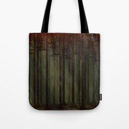 Autumn Forest - Pixel Art Tote Bag