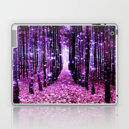 Magical Forest Pink & Purple Laptop & iPad Skin