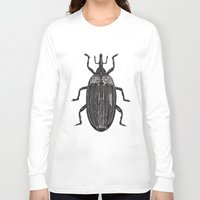 beetle Long Sleeve T-shirts featuring Beetle by Najla