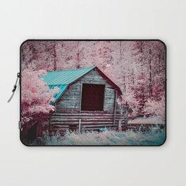Nestled Barn Among The Forest, Idaho Laptop Sleeve